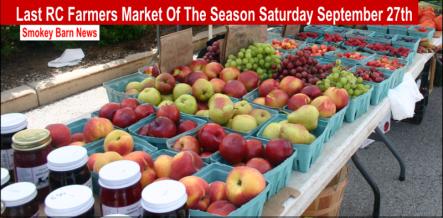 last Farmers Market slider