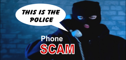 police phone scam