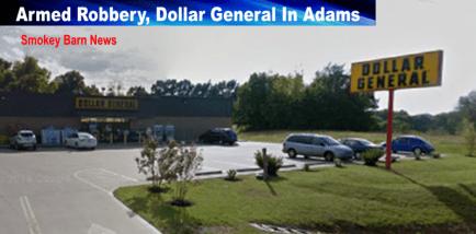 Adams Dollar General robbery slider