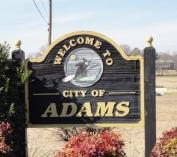 Adams sign