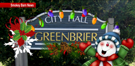 Greenbrier Christmas slider