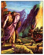 Moses burning bush