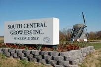 South Central Growers sign