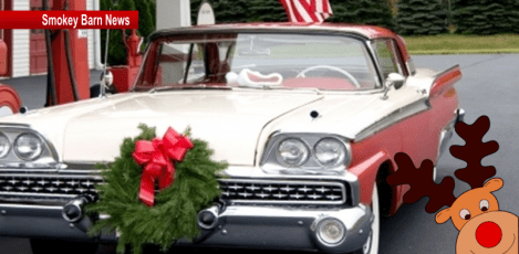 White House Cruisin Christmas slider