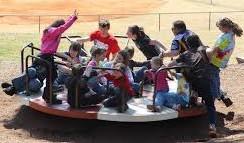 kids merry go round park