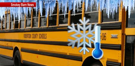 Cold temps bus slider