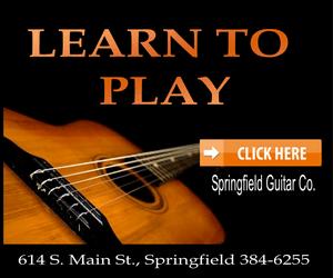 Springfield guitar orange 300