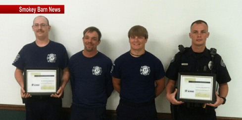 firefighters recognition