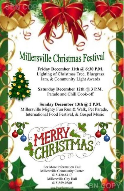 Millersville Christmas flyer 2015
