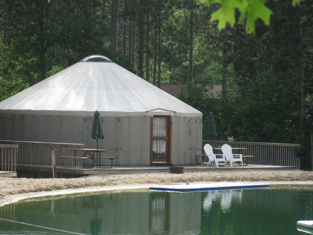 Yurts  Smokey Hollow Campground