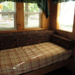 Rustic Sleeper Sofa Sofas And Sectionals Com Reviews Cabins Smokey Hollow Campground