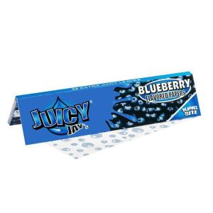 Juicy Jay King size blueberry rolling papers