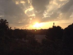 Sunrise over Goliath