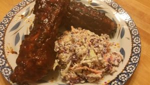 Ribs and slaw 1.