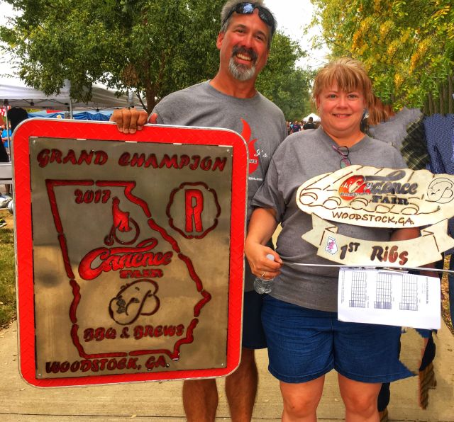 Smokin J's Barbeque Grand Champion BBQ & Brews Cadence Fest
