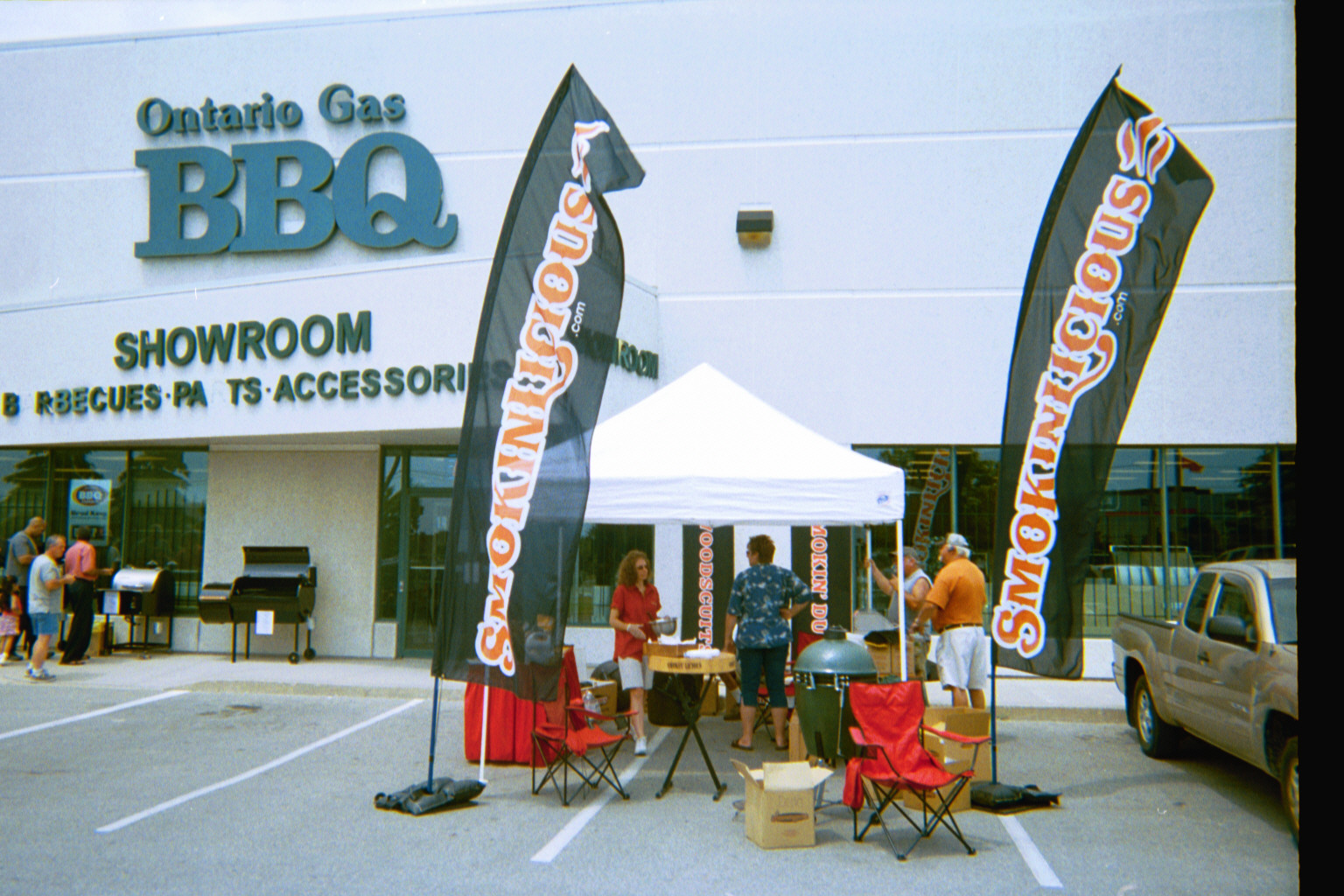 Ontario Gas BBQ and Smokinlicious Tent
