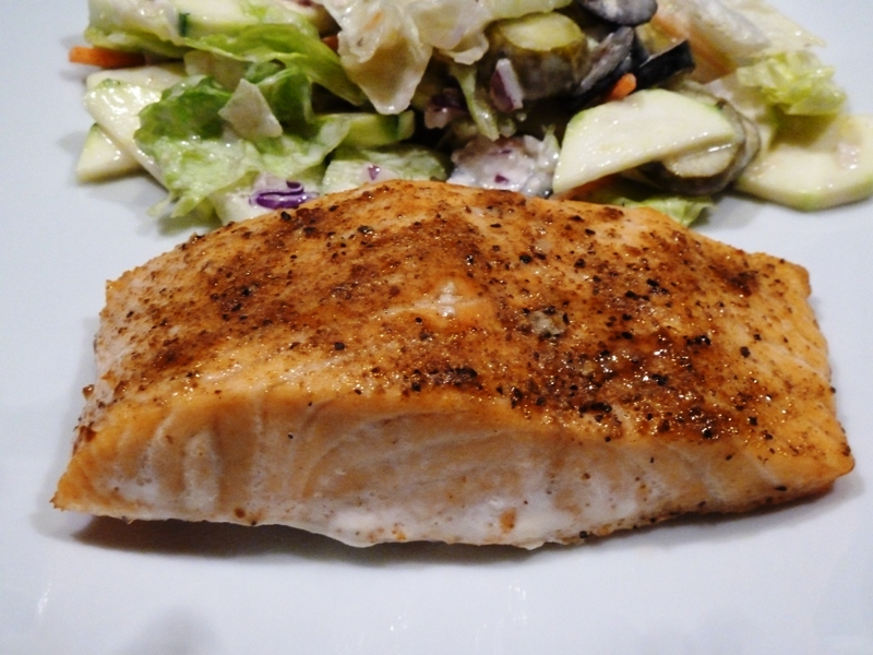 Lucille's Baked Salmon