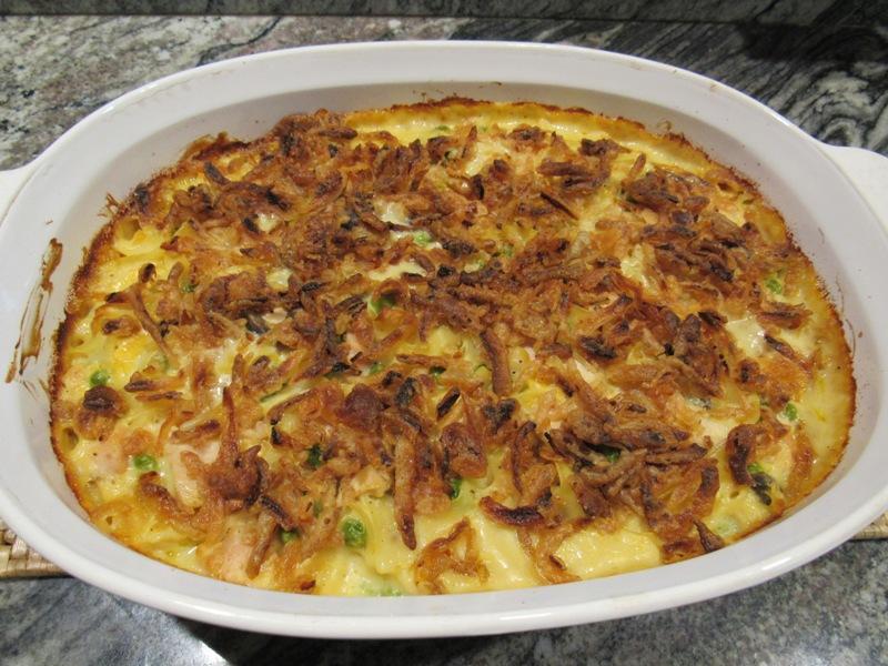Fried Onion topped casserole