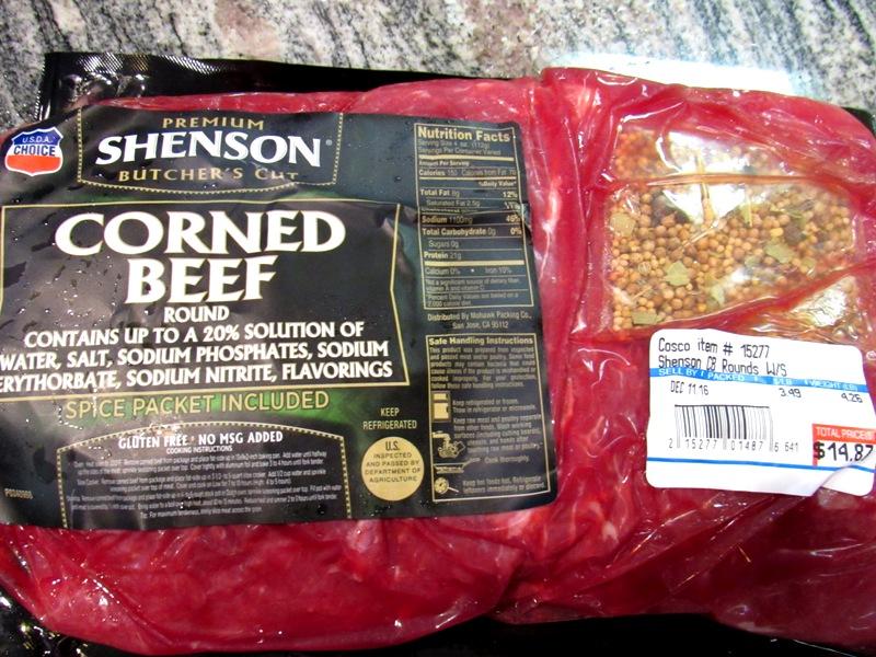 Choice Round Corned Beef
