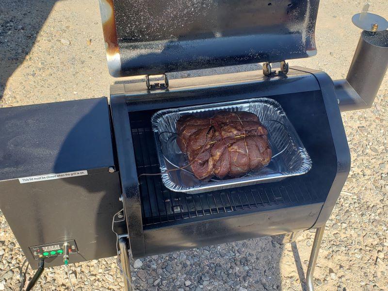 Pork Butt at 160ºF
