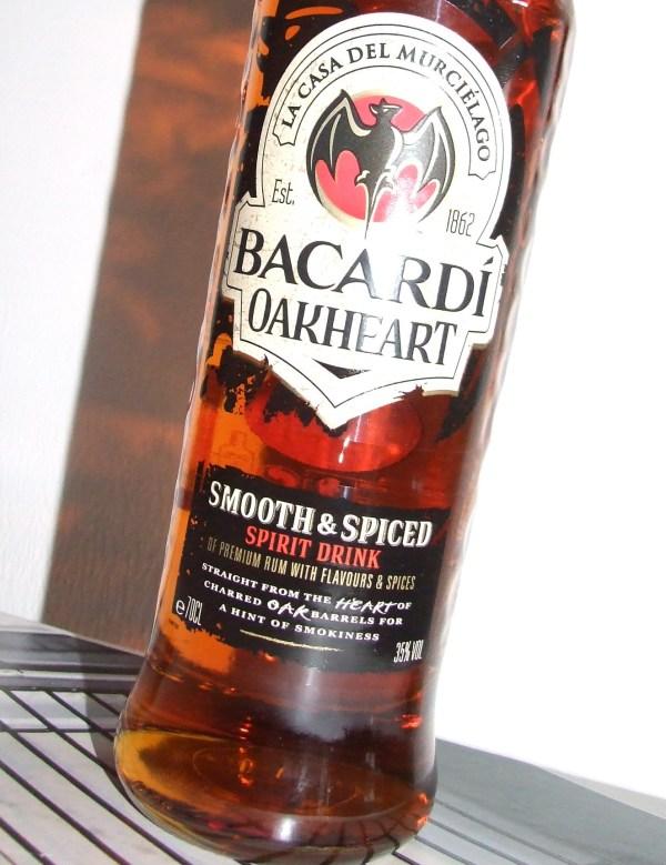Oakheart Bacardi With Smokey Flavour Charred Oak