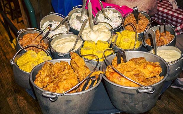 All You Can Eat At Hatfield And Mccoy Dinner Show