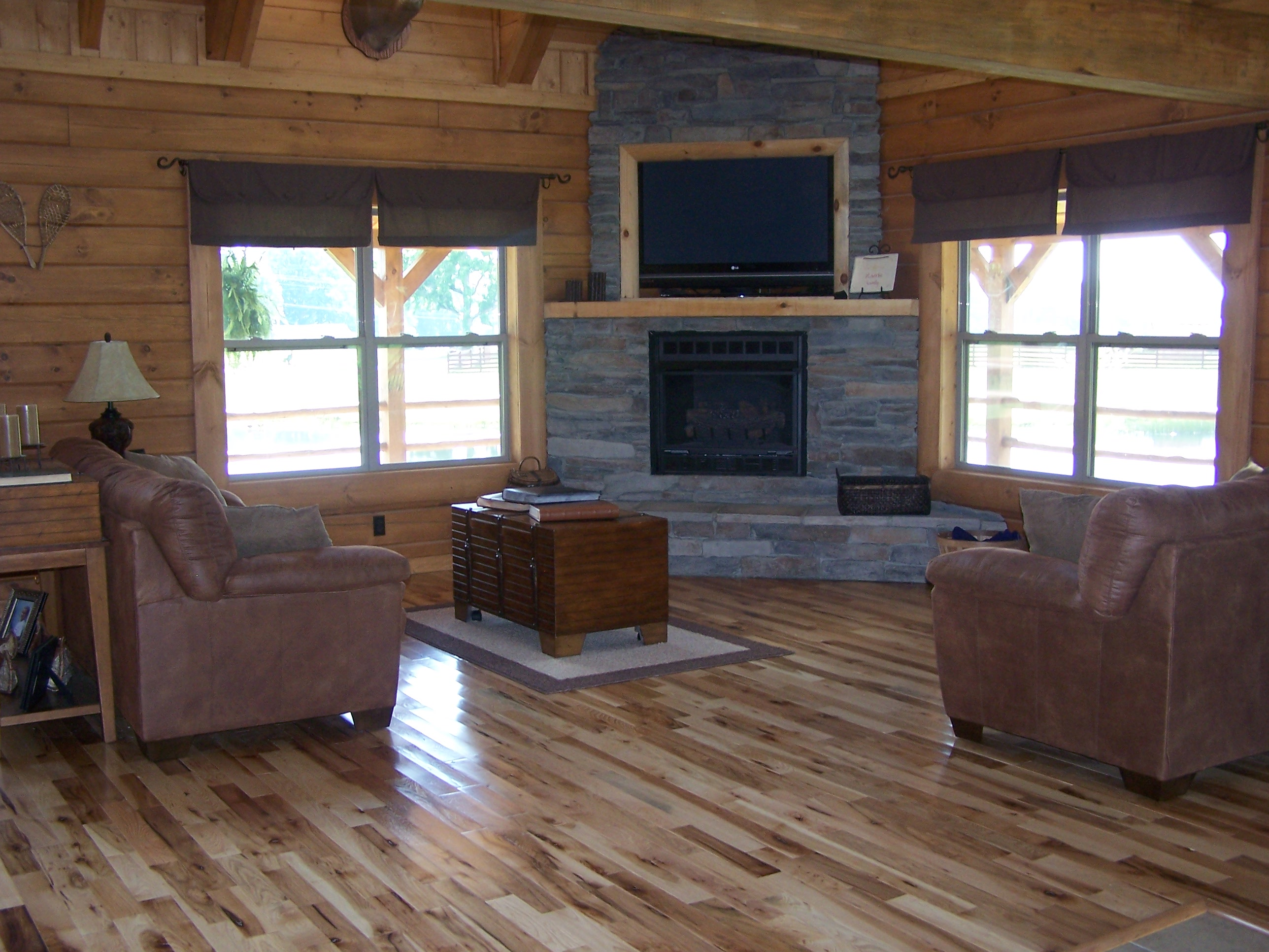 Hickory Flooring  Smoky Mountain Wood Products  Hickory