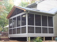 Vinyl Windows: Vinyl Screen Porch Windows