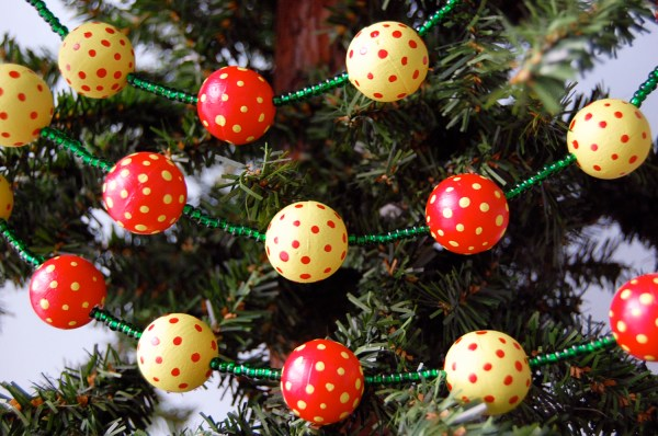 Ball Christmas Tree Garland Year Of Clean Water