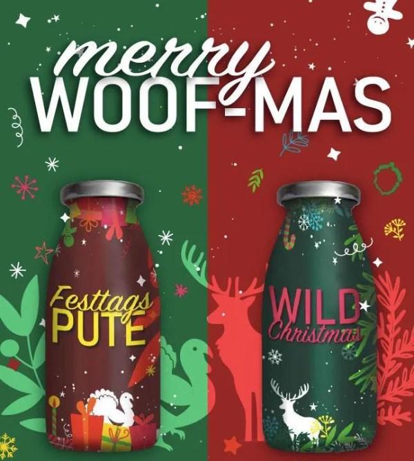 Hundesmoothie Weihnachten Edition