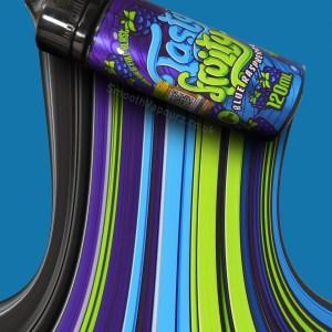 Tasty Fruity - Blue Raspberry - 100ml E-liquid - Vape Juice - Smooth Vapourz