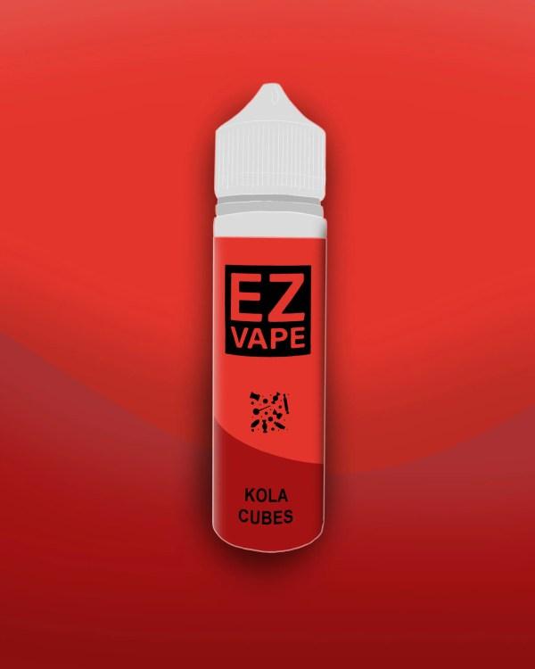 EZ Vape - 50ml - Kola Cubes - 3 for £10 - Smooth vapourz