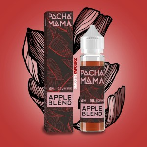 Pacha Mama e-liquid 50ml shortfill Apple Blend - smooth vapourz
