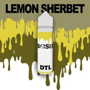 QCIG Basix DTL - Lemon Sherbet 50ml E-liquid - Smooth Vapourz Vape Juice