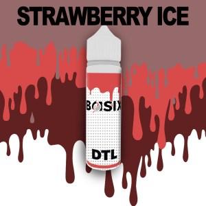 QCIG Basix DTL - Strawberry Ice 50ml E-liquid - Smooth Vapourz Vape Juice