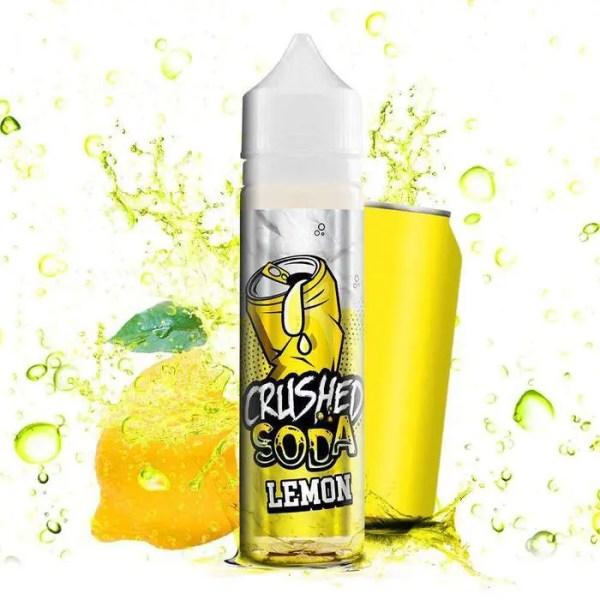 Crushed Soda - Lemon 50ml Shortfill Smooth Vapourz