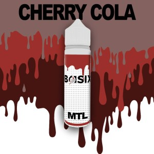 QCIG Basix MTL - Cherry Cola 50ml E-liquid - Smooth Vapourz Vape Juice