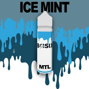 QCIG Basix MTL - Ice Mint 50ml E-liquid - Smooth Vapourz Vape Juice