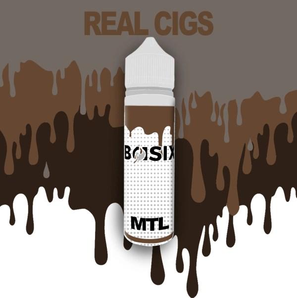 QCIG Basix MTL - Real Cigs 50ml E-liquid - Smooth Vapourz Vape Juice