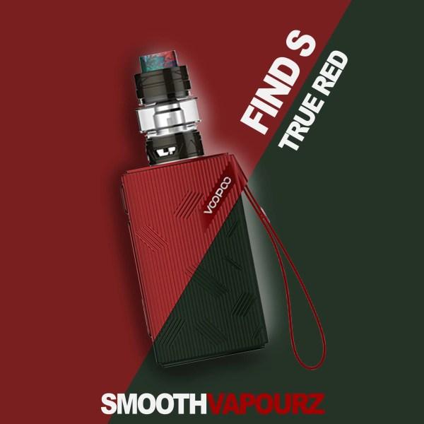 Voopoo Find S - True Red - Vape Kit - Smooth Vapourz