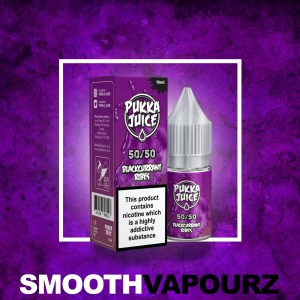 Pukka Juice - Blackcurrant Ribes - 10ml - Smooth Vapourz
