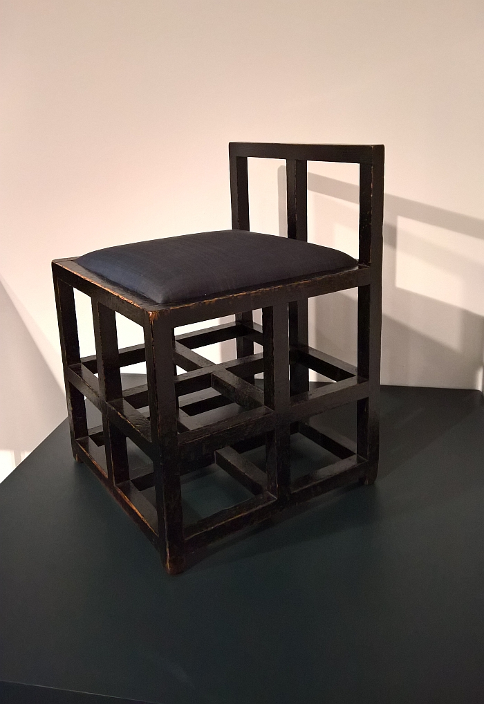 charles rennie mackintosh willow chair to bed furniture making the glasgow style kelvingrove art stool for tearooms by as seen at