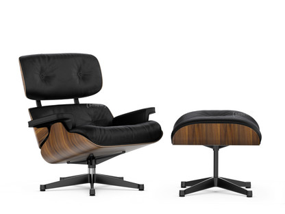Vitra Lounge Chair Ottoman By Charles Ray Eames 1956 Designer Furniture By Smow Com