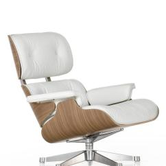 Eames Chair White Red Sashes For Sale Vitra Lounge Version 84 Cm Original Height 1956 By