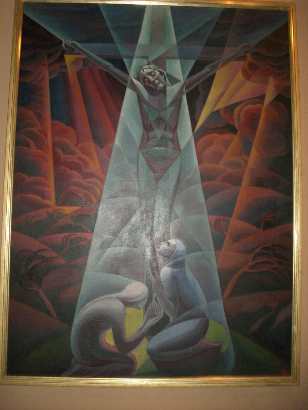 Vatican Museum - Collection Of Modern Religious Art Crocifissione Saint Mary' Press