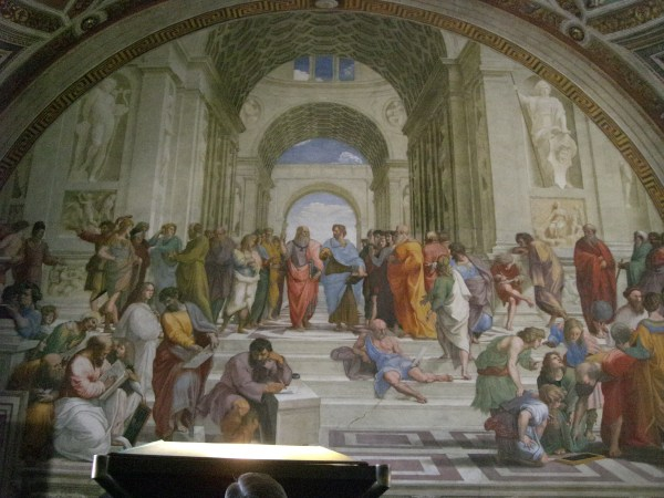 "Vatican Museum Pinacoteca Art ""school Of Athens"