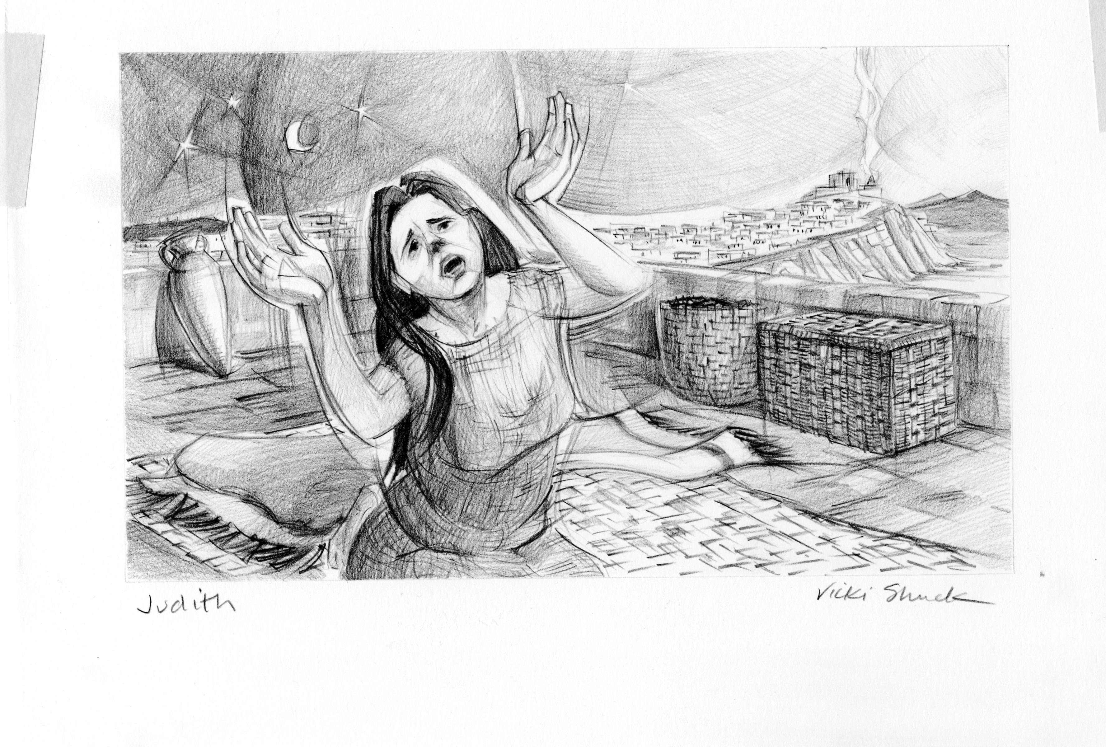 Judith 9 1 Illustration