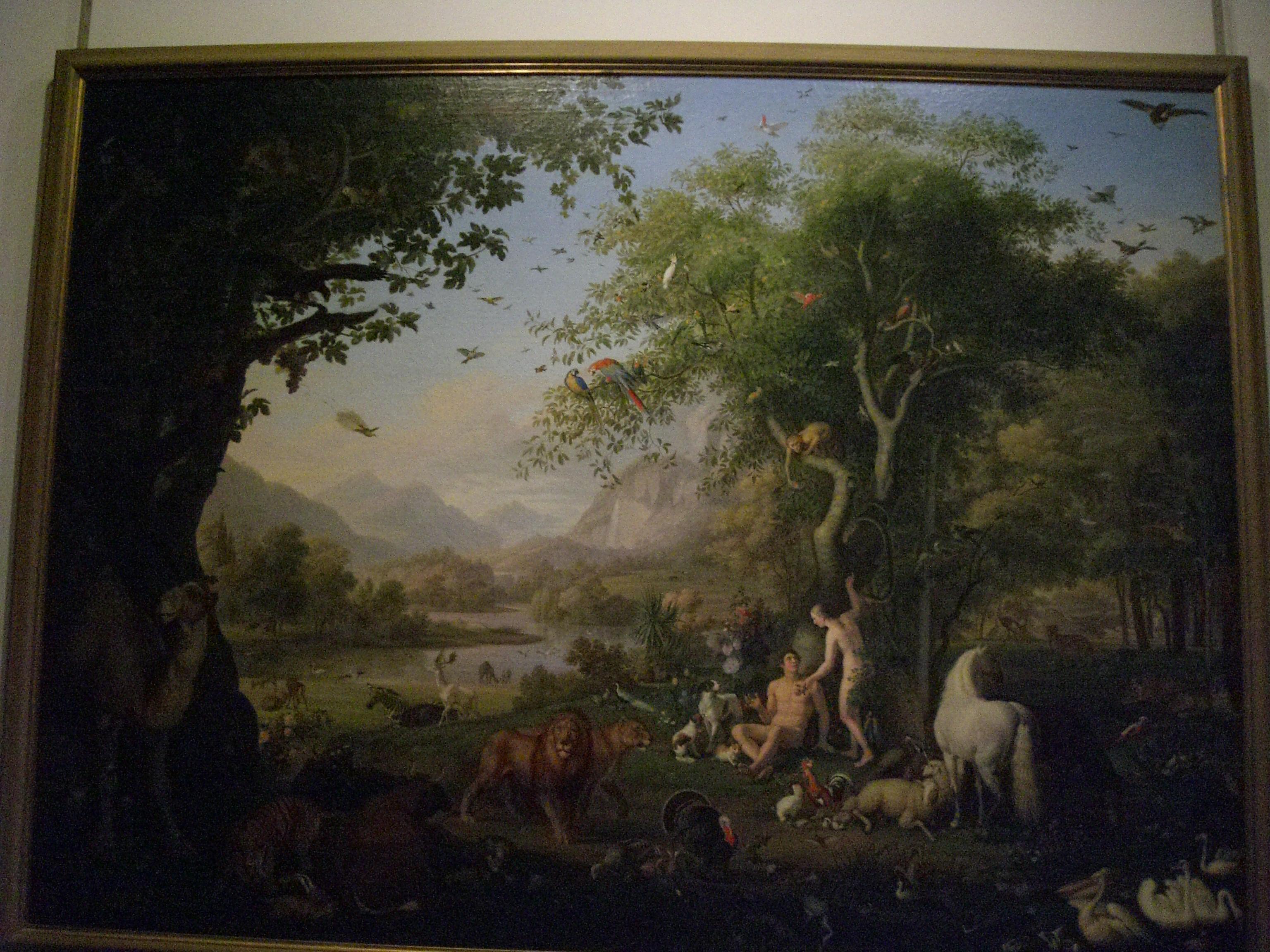 Vatican Museum Pinacoteca Art Gallery Adam And Eve In