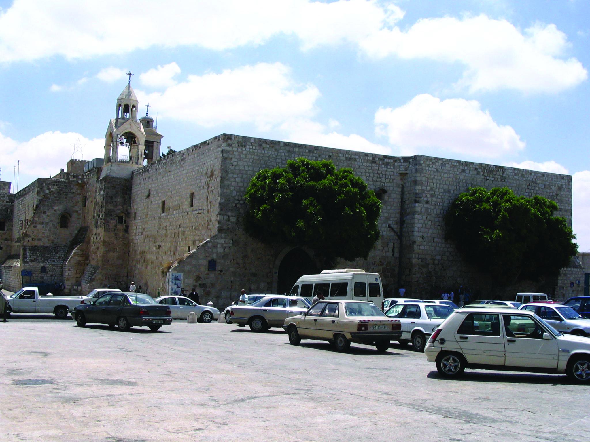 Church Of The Nativity In Bethlehem Israel