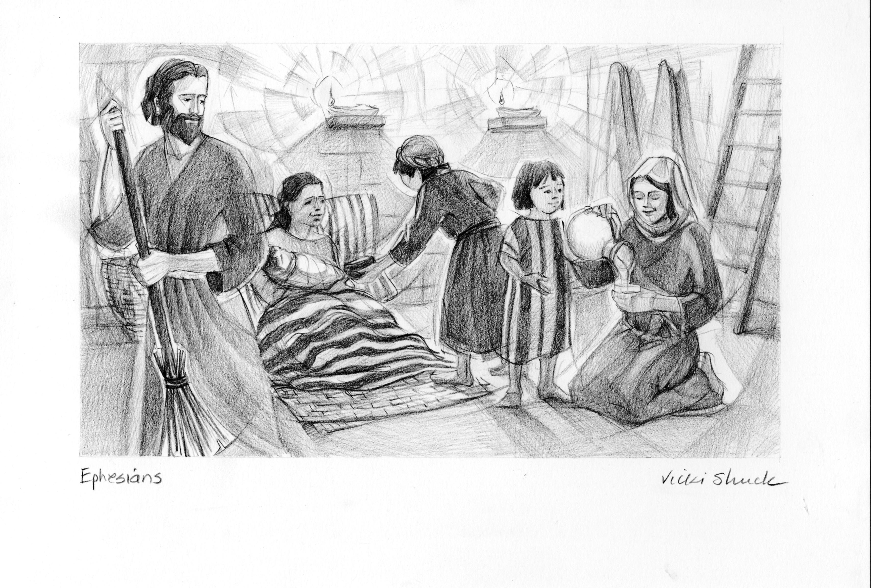 Ephesians 5 21 33 Illustration